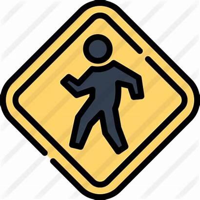 Crosswalk Icon Premium Lineal Getdrawings Icons