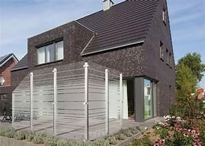 Sichtschutz Glas Bauhaus : holz ahmerkamp immer eine holzidee besser glas erobert den garten ~ Eleganceandgraceweddings.com Haus und Dekorationen