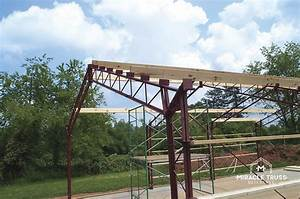 Pre fabricated metal buildings diy building kits for 40 ft metal trusses