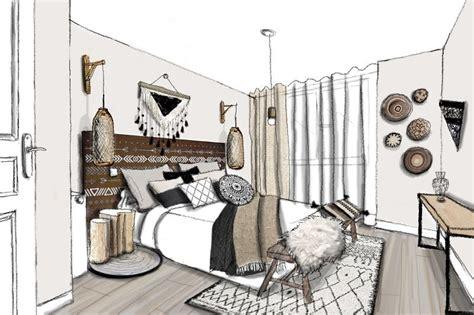 chambre style ethnique partez en voyage grâce à la décoration dépaysante ethnique