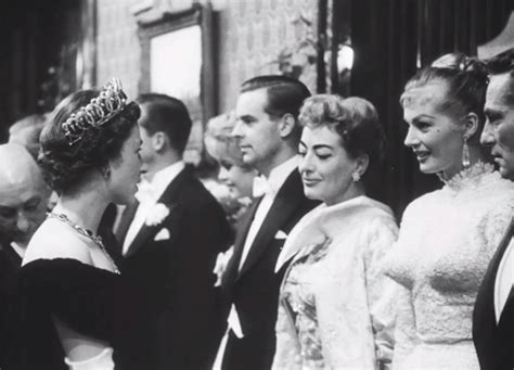 joan crawford giving queen elizabeth side eye vanity