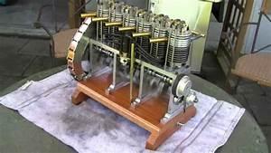 Inline 6 Miniature Engine
