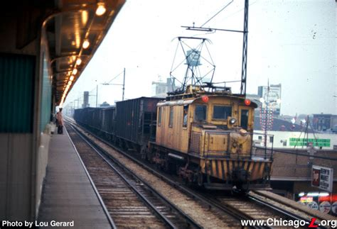 Service Chicago by Chicago L Org Operations Freight Service On The L