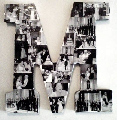 letter picture collage 30 awesome room decor ideas money saving diy 91240