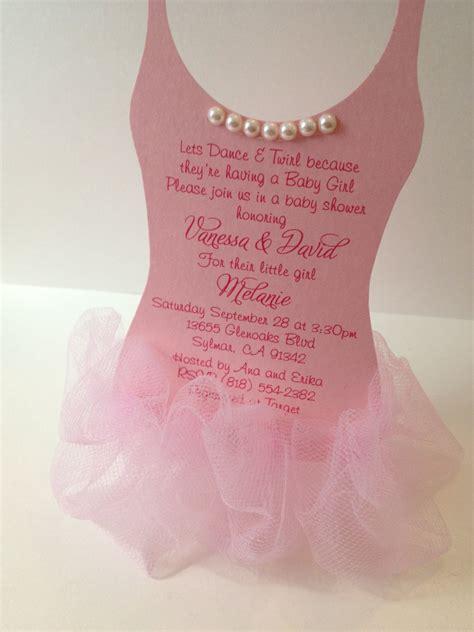 tutu baby shower invitations templates ballerina baby shower ideas baby ideas