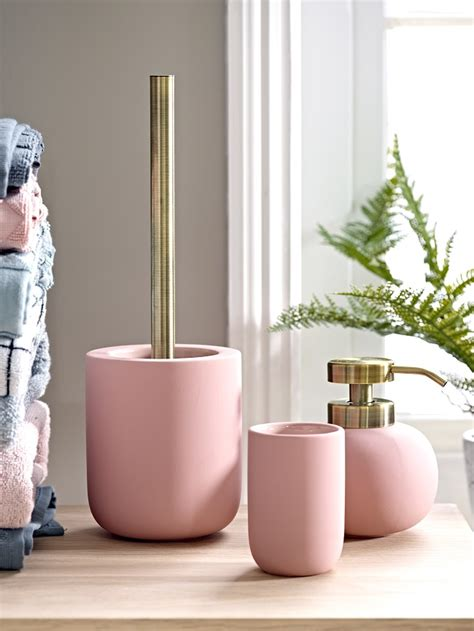 blushing pale pink bathroom ideas homegirl london