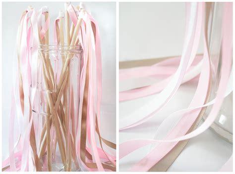 Diy Wedding Ribbon Wands