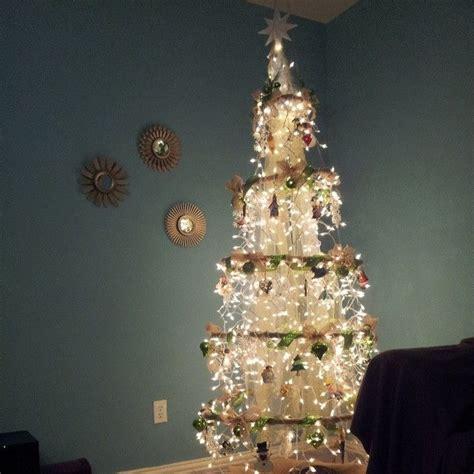 emerald christmas tree hula hoop chandelier style things