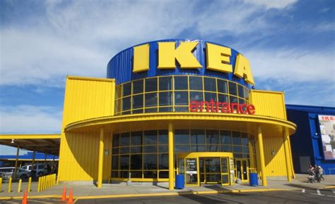 ikea retail store pressure washing and painting in
