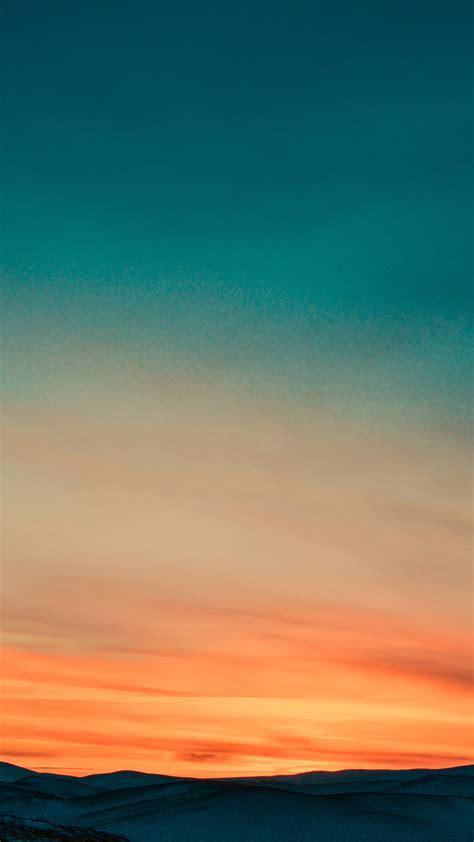 papersco iphone wallpaper nb sky sunset nature