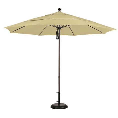 sunbrella patio umbrella 11 foot 11 ft sunbrella pulley patio umbrella with bronze pole