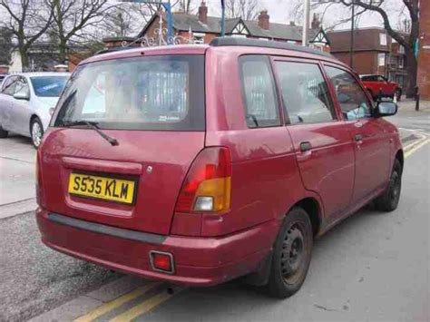 Daihatsu 1998 S Plate Grand Move 1.5 5dr In Red. Car For Sale