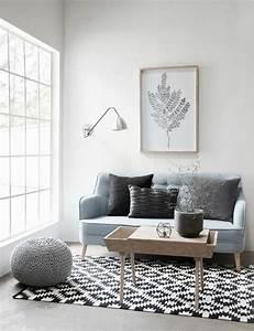Salon Gris Bleu : salon couleur taupe gris anthracite ou gris clair ~ Melissatoandfro.com Idées de Décoration