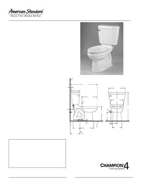 American Standard Doral Champion 4 Round Front Toilet 4272