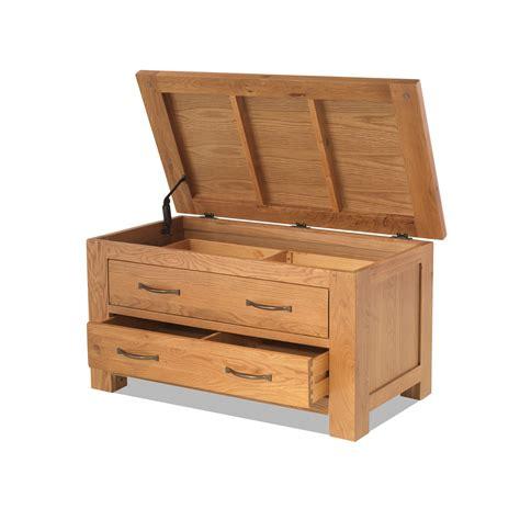 Bedroom Storage Drawers by Oregon Solid Oak Bedroom Furniture Blanket Storage Box