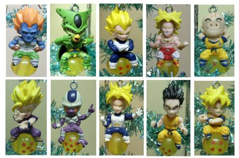 dragon ball christmas ornament set christmas ornaments