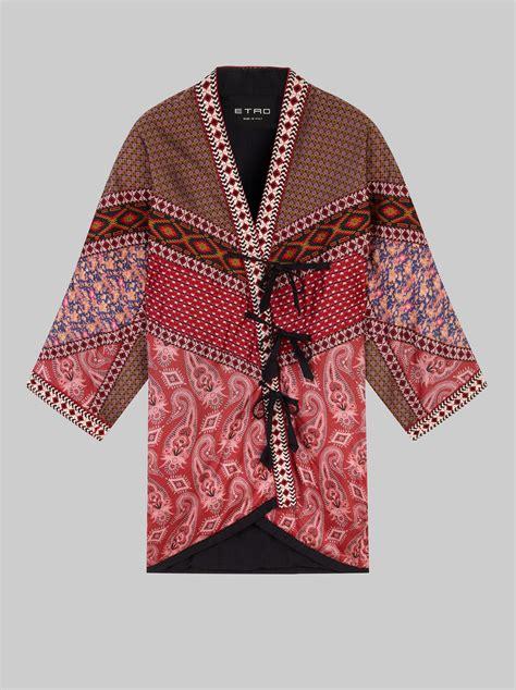 patchwork kimono jacket etro