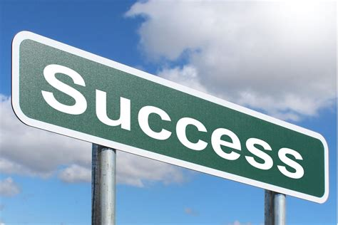 Success - Free of Charge Creative Commons Green Highway ...