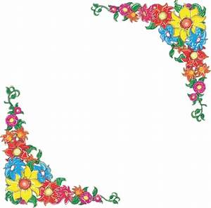 Free Simple Flower Border Designs For School Projects ...