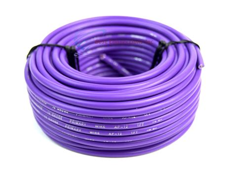 what color is the ground wire 12 ga 50 ft rolls primary auto remote power ground
