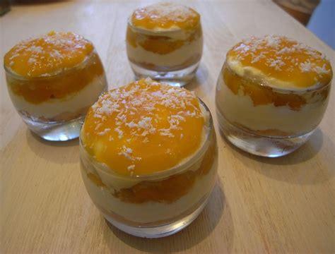 recette dessert d ete verrine mangue litchis coco bon et beau