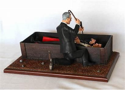 Coffin Dracula Apoxie Doctor Draculas Thedoctorsmodelmansion
