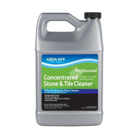 Tilelab Grout And Tile Concentrated Cleaner by Custom Building Products Tilelab 1 2 Gal Gloss Sealer And