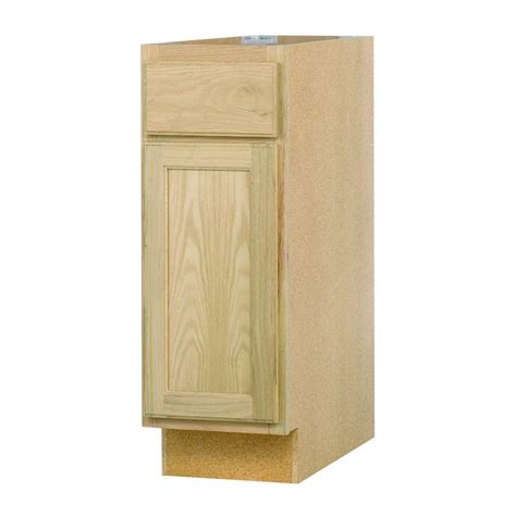 unfinished base kitchen cabinets 12x34 5x24 in base cabinet in unfinished oak b12ohd the 6608