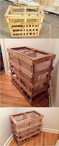 Perfect, Ideas, For, Shipping, Pallet, Reusing