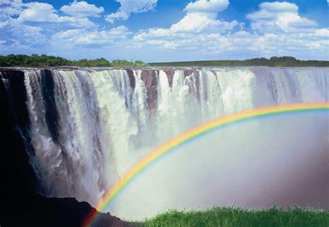 rainbow falls wall murals