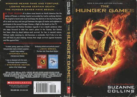 hunger games book plot summary  hunger games