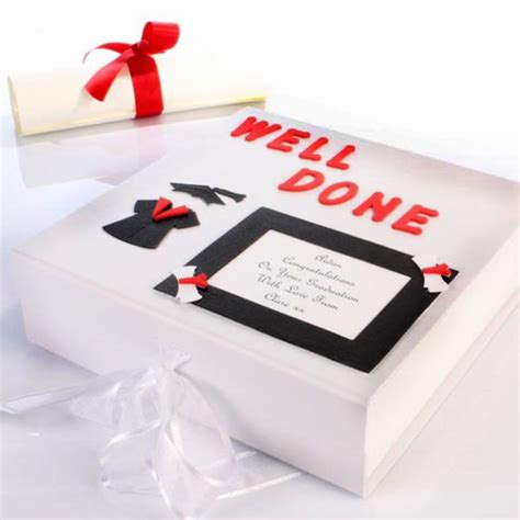 personalised graduation memory box  gift experience
