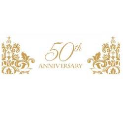 Happy 50th Wedding Anniversary Clip Art