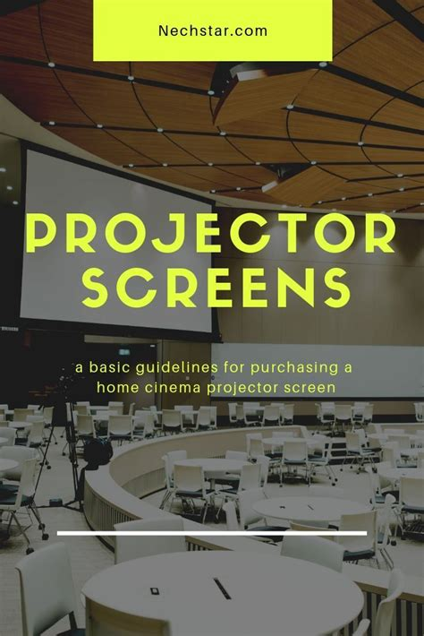 The Best Projector Screens To Buy In 2020: Motorized vs
