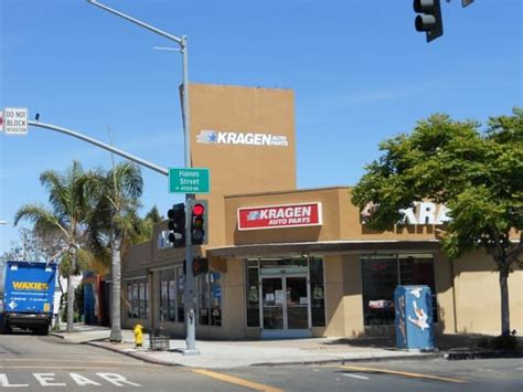 Parts San Diego by Kragen Auto Parts Moved Pacific San Diego Ca
