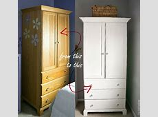White Painted Armoire It All Started With Paint