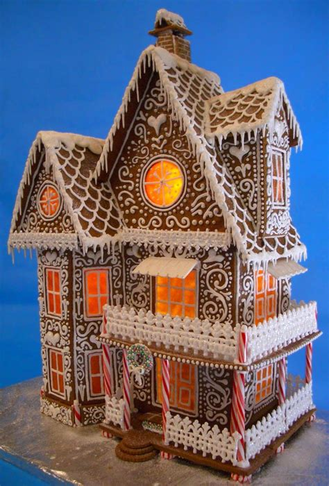 jaw dropping gingerbread houses    urbanmoms
