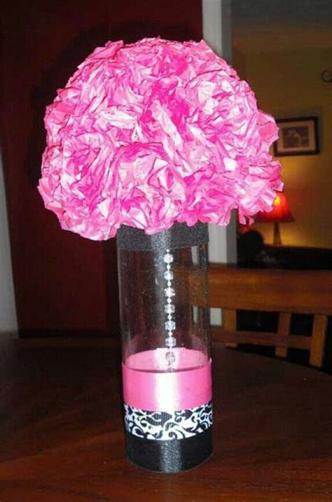 Sweet Table Vases by Sweet Sixteen Decor Sweet Sixteen Decorations