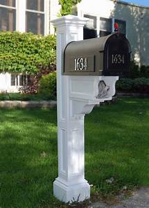 Charleston, Plus, Mailbox, Post