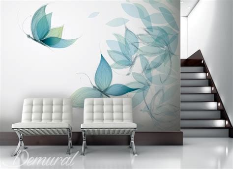 gaudy   butterfly animals wallpaper mural photo