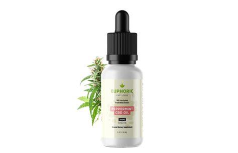 euphoric cbd thc  hemp cbd oil extract  peppermint