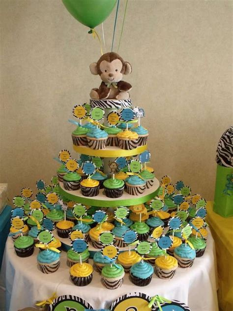 jungle baby shower party ideas   baby shower