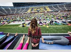 Yoga in the Big House – After5 Detroit