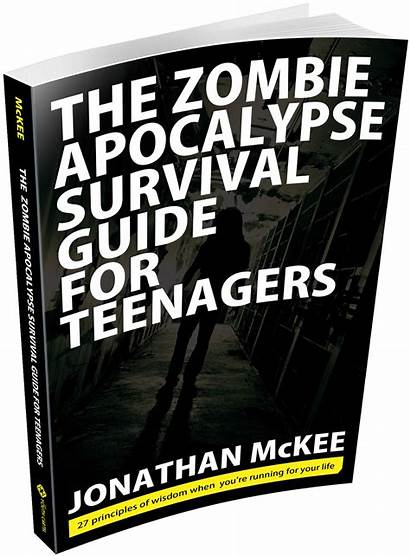 Zombie Guide Survival Apocalypse Teenagers Zombies Survive