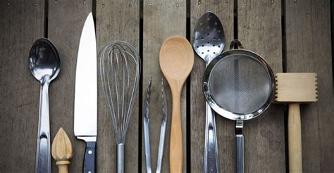 basic kitchen essentials list culinary tools