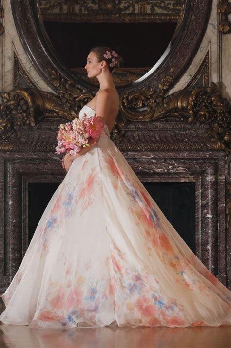 floral wedding gowns heart skip beat
