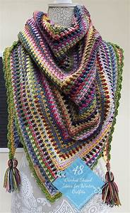 48 Crochet Shawl Ideas Fow Winter Outfits  26