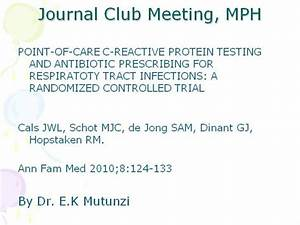 journal club mph march 2010 authorstream With journal club powerpoint template