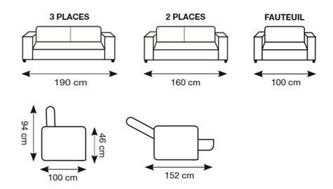 dimension d un canap dimension canape 2 places 28 images dimension canape 2