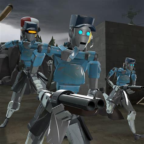 femscout robot team fortress  skin mods